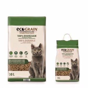 Ecograin composteerbare kattenbakkvulling