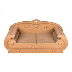 Henry krabkarton Deluxe is de ideale sofa voor katten