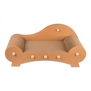 Ella krabkarton Deluxe is de relax sofa voor katten