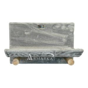 Wand krabpaal zilver