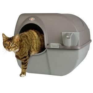 Zelfreinigende kattenbak large nieuw model!