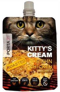 Kattensnack Kitty's Cream geroosterde kip extreem lekker!