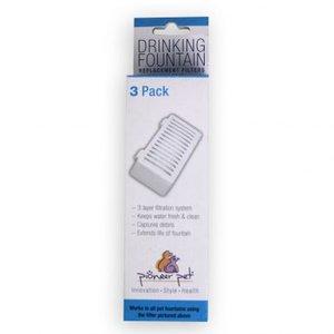 Koolstoffilters voor drinkfontein zwaan 3 pack